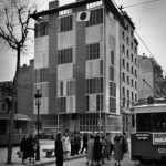 LA BARCELONETA Residential Building. (Barcelona), 1951 - FRONT VIEW